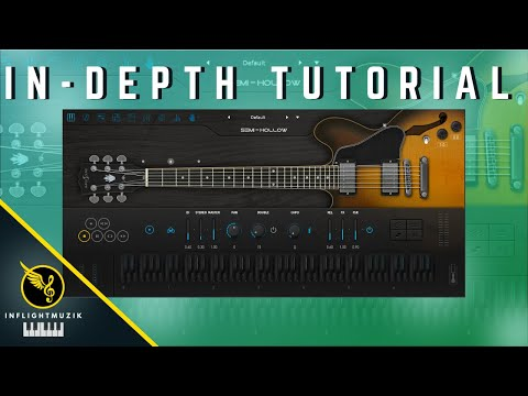Perfect Guitar VST For Illenium, Roddy Ricch, Rod Wave | Ample Guitar Semi-Hollow Tutorial