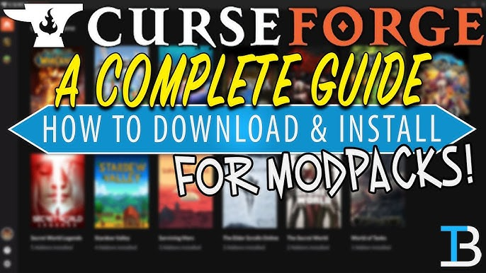 How To Download & Install The CurseForge Launcher (Your Guide to the CurseForge Launcher!) - YouTube