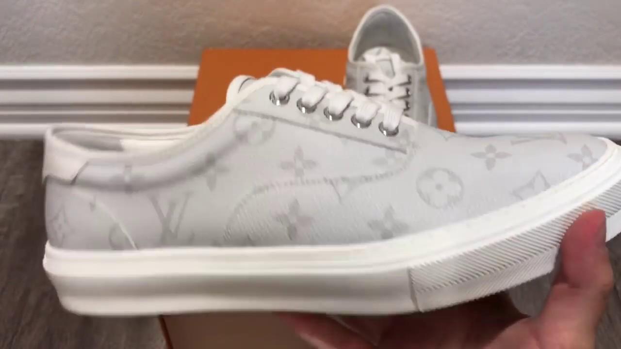 Louis Vuitton Trocadero Vans Sneaker Review   On-Feet - YouTube ce7d1738dbe
