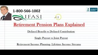 Retirement Pension - Retirement Pensions Explained
