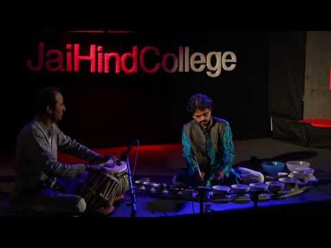 Jaltarang: Creating Music With Water   Panditji Milind Tulankar   TEDxJaiHindCollege