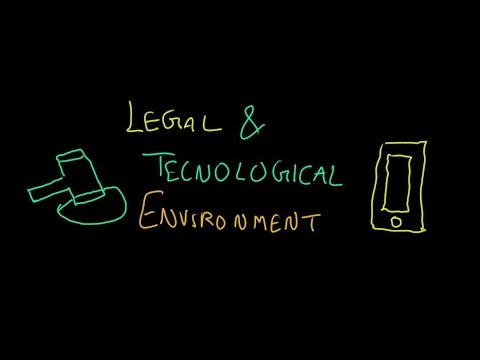 Business Environment Part - 4, Legal & Technological Environment(Dimension/Element) || Class 12