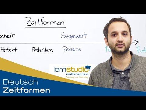 Zeitformen - Deutsch Nachhilfe