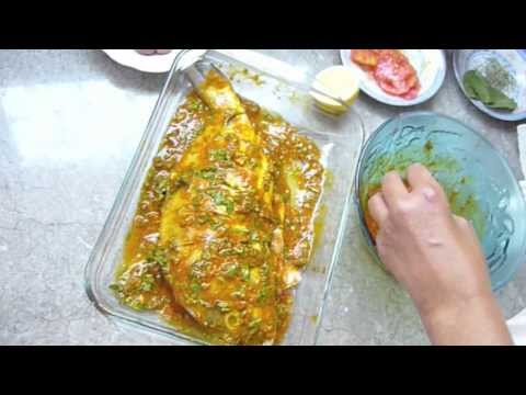 Moroccan Cooking: Oven Fish