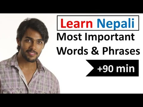 Learn Nepali In 5 Days - Conversation For Beginners