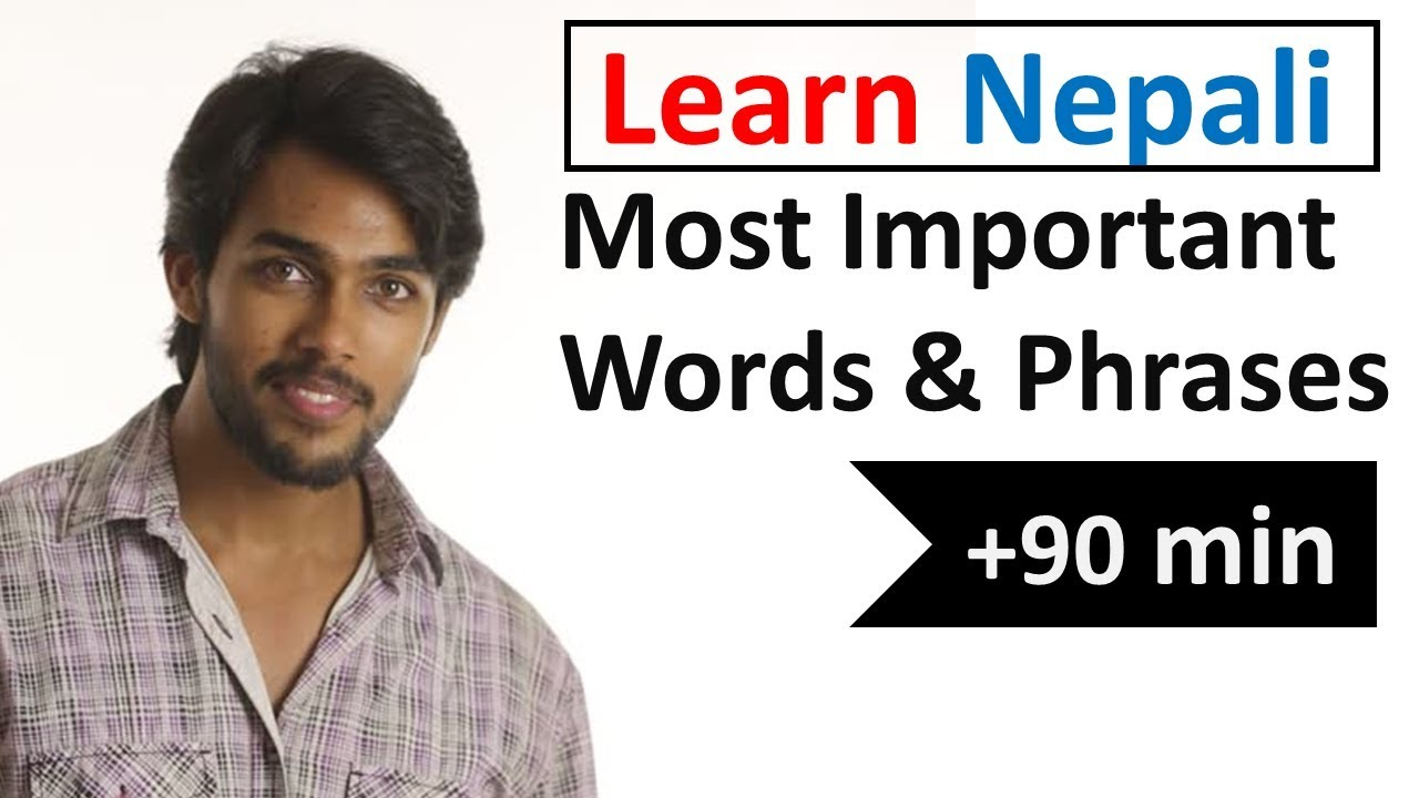 Learn Nepali In 5 Days Conversation For Beginners Youtube