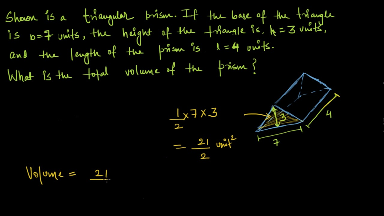 Volume of triangular prism cube hindi class 8 india khan volume of triangular prism cube hindi class 8 india khan academy ccuart Gallery
