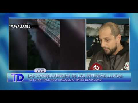 Nota con Rodrigo Goncalvez, titular de Defensa Civil