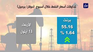 أسعار النفط تسجل أكبر مكسب أسبوعي - (16-9-2017)