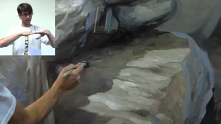 How to Paint Rocks and Boulders