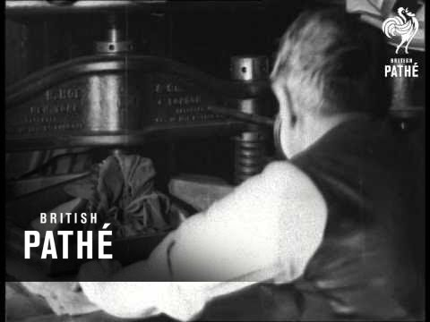Printing The Daily Express (1938)