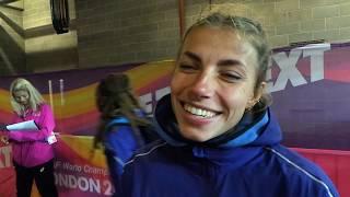Марина Бех - про виступ на чемпіонаті світу-2017 з легкої атлетики