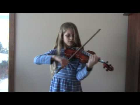 Sadie Hamrin, 8, plays