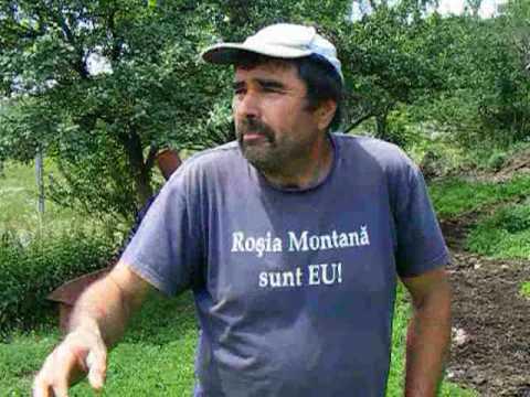 Vasile Sabo din Rosia Montana despre proiectul Gold Corporation