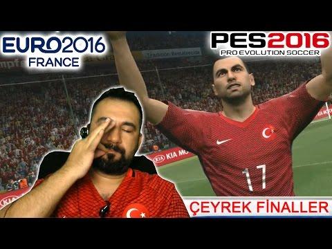 PES 2016 ile EURO 2016 #3 | ÇEYREK FİNAL- SUSMA TOTEMİ