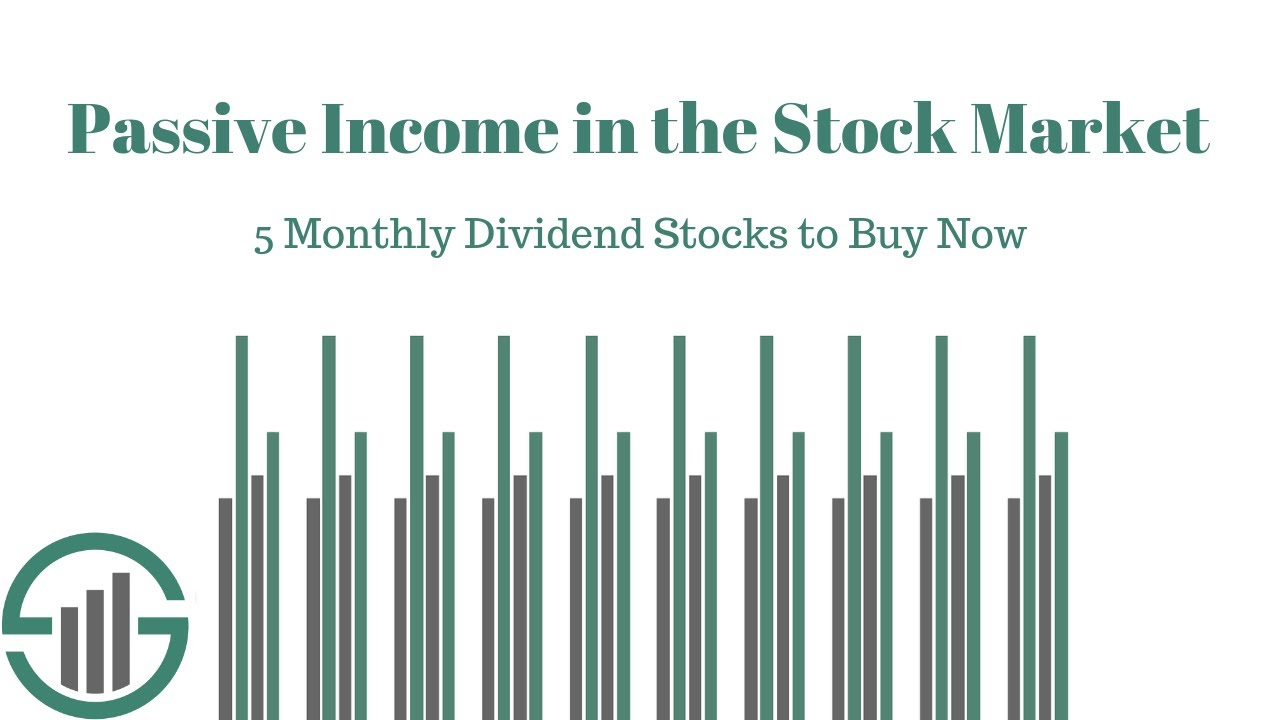 September 2019 List of All 45 Monthly Dividend Stocks Sure