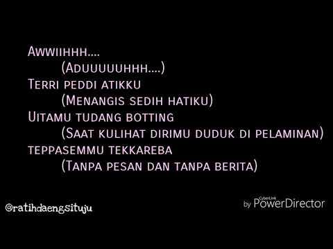 Sajeng Rennu (OST. Silariang) - Ika KDI (Video Lirik+Terjemahan)