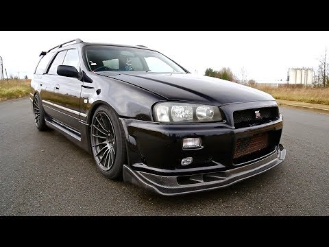 400 WHP Nissan Stagea 260RS | The Skyline R34 GTR's Alter Ego