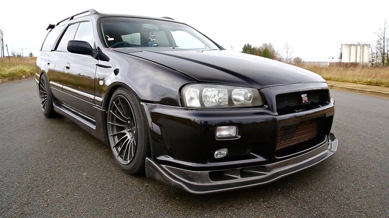 400 WHP Nissan Stagea 260RS | The Skyline R34 GTRu0027s Alter Ego
