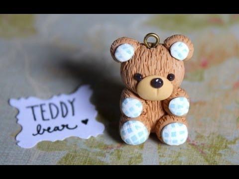 Diy Teddy Bear Stop Motion Tutorial Polymer Clay Charm