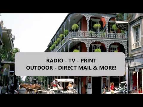 advertising cost & rates in New Orleans Radio+TV+Social media