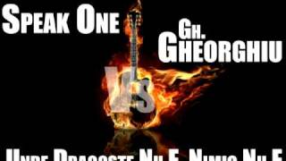 Speak One vs Gh.Gheorghiu - Unde dragoste nu e nimic nu e Official Remix HQ
