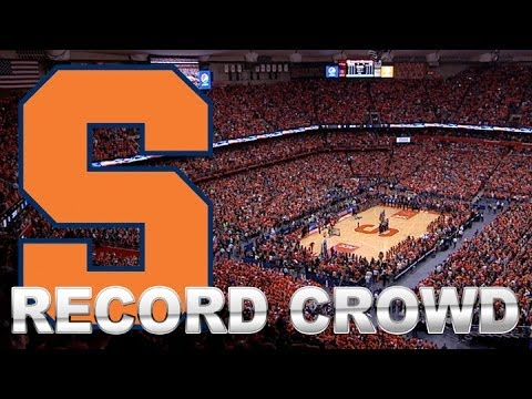 Record Crowd Of 35,446 Packs Carrier Dome For Duke vs ...