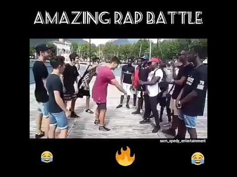 Most amazing rap battle : funny as hell