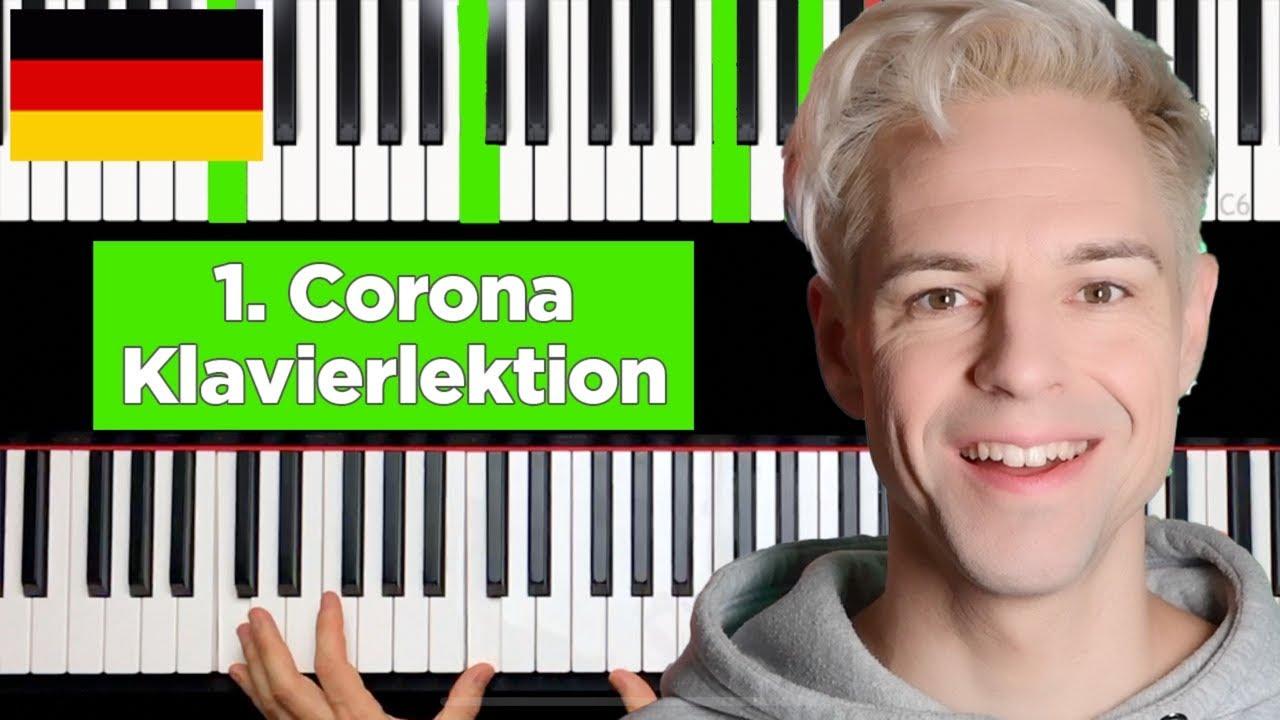 Corona Klavierlektion Nr. 1