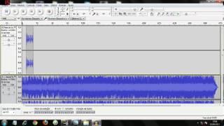 como fazer vinheta de voz com fundo musical no Audacity