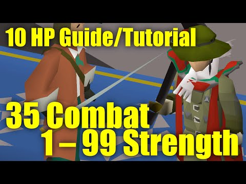 OSRS 10 HP Guide – Training to 99 Strength at 35 Combat