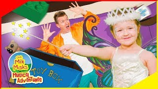 Pack Up | Nursery Rhymes and Educational Kids Songs | Toys and Slime | The Mik Maks