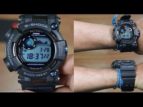 CASIO G-SHOCK FROGMANGWF-D1000B-1 DIVER'S WATCH - UNBOXING