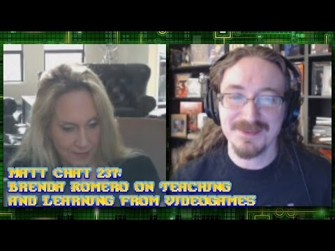 Matt Chat 237: Brenda Romero On Teaching And Learning With Videogames