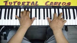 Te Amo Señor Majo y Dan .Piano Tutorial Carlos