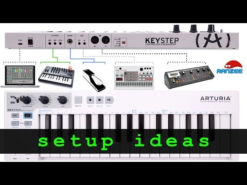Arturia KeyStep - some setup ideas