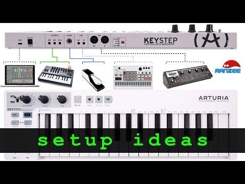Arturia KeyStep - some setup ideas