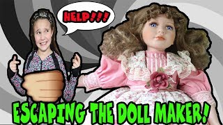 Escaping The Doll Maker! Come Play With Us!