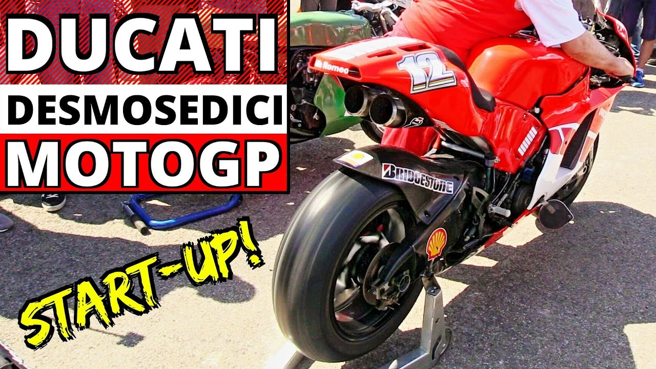 Motogp Ducati Desmosedici Gp4 Ex Troy Bayliss Engine Star Up Revvings Exhaust Sound Youtube