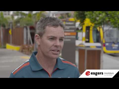 Craig Lowndes Announcement - Eagers Holden