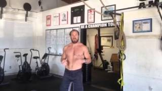 Power Clean to Push-Press Demo