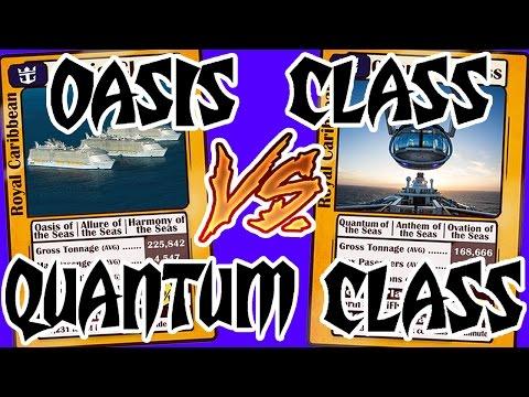 Oasis Class vs. Quantum Class Ships