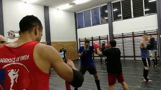 Warriors of Faith Martial Arts: Muay Thai, 14 December 2017