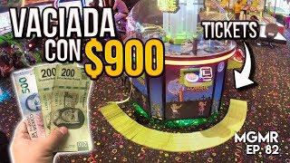 $900 en Máquina de Tickets/Vaciada - MiniGames en el Mundo Real EP. 82