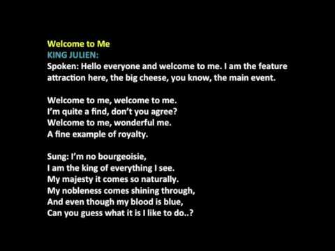 Welcome to Me Madagascar Audition (with vocals)