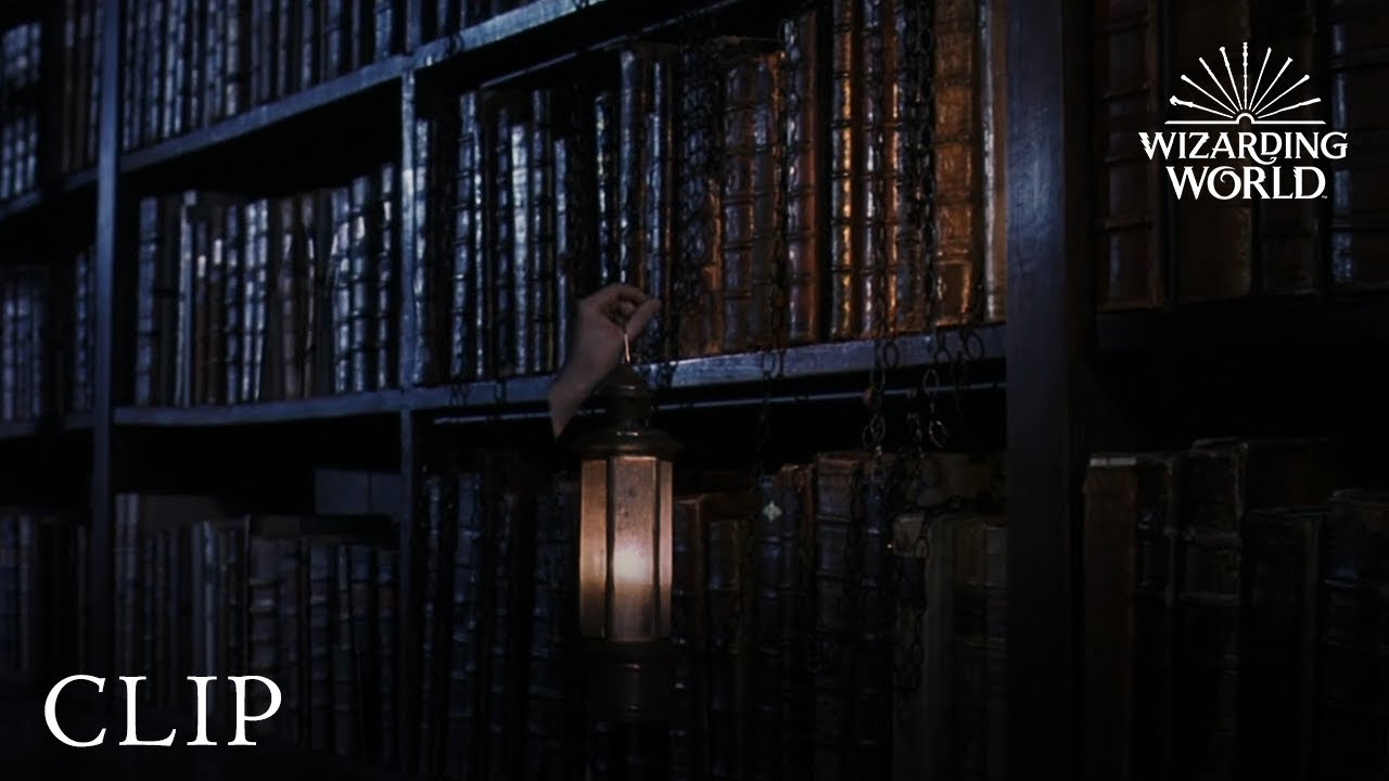 Download Harry Sneaks into the Restricted Section   Harry Potter and the Philosopher's Stone