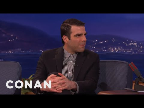 Zachary Quinto Remembers Leonard Nimoy  - CONAN on TBS