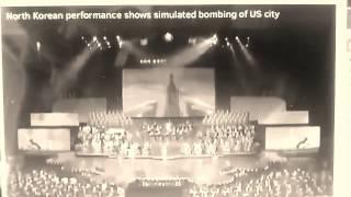 North Korea propaganda video shows missile attack destroying USA city