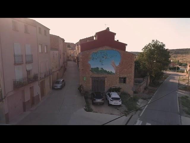 Dron Soleràs, Mural Ingrid