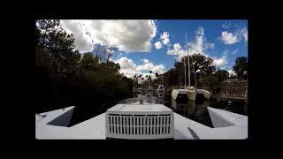Electric Blue Solar Yacht